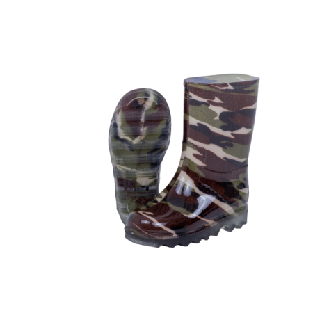 Neptun Kiddies Clipper Camo Gumboot