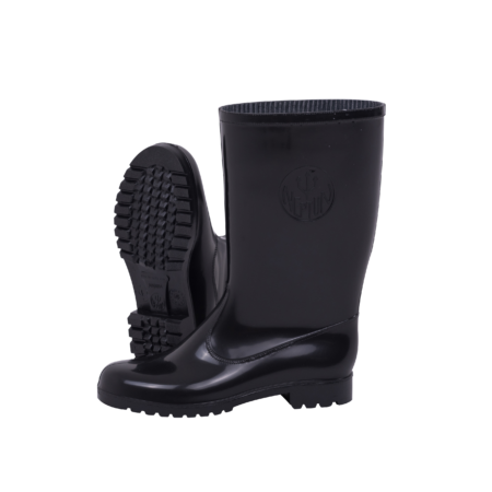 Neptun Marina Ladies Black Black Calf Gumboot