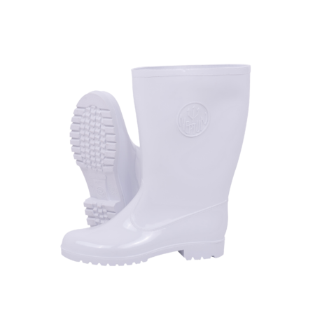 Neptun Marina Ladies White White Calf Gumboot
