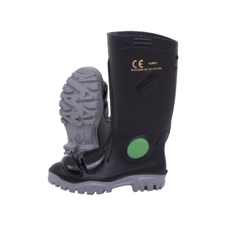 Neptun Stimela Black Grey Gumboot