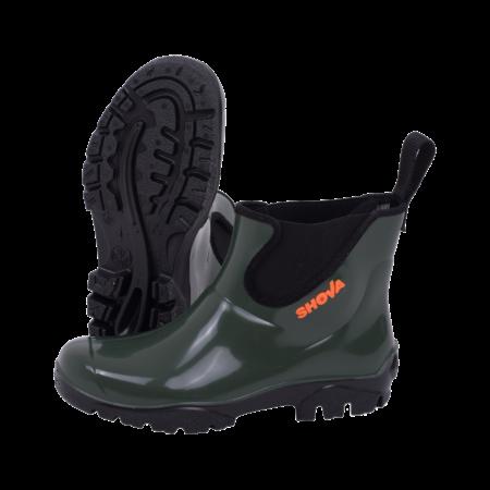 Neptun Shova Green Black Chelsea Boot