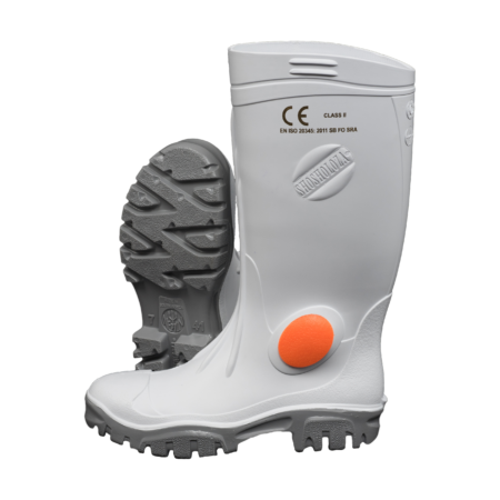 Neptun Stimela White Grey Gumboot