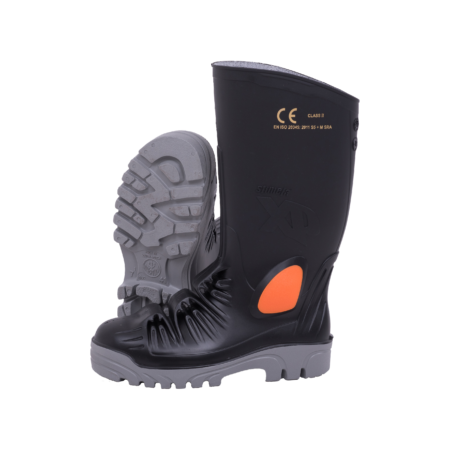 Stimela XP Black Grey Metal FreeGumboot