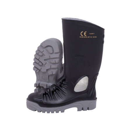 Neptun Stimela XP Black Grey Gumboot