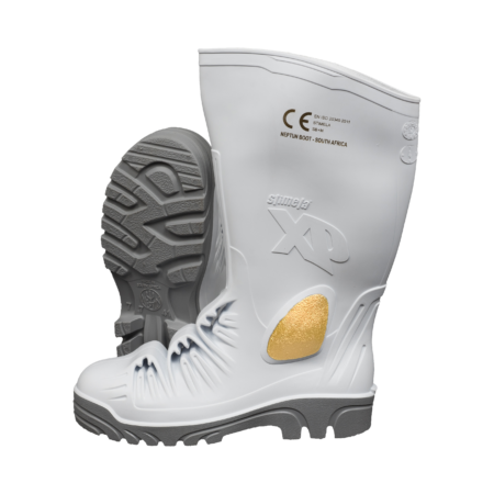 Neptun Stimela XP White Grey Metal-Free Gumboot