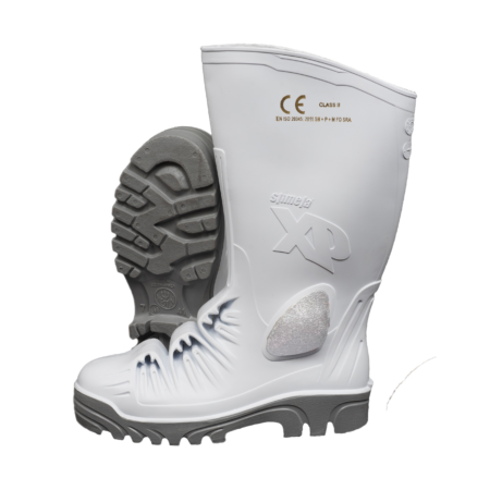 Neptun Stimela XP Metal-free Gumboot White Grey